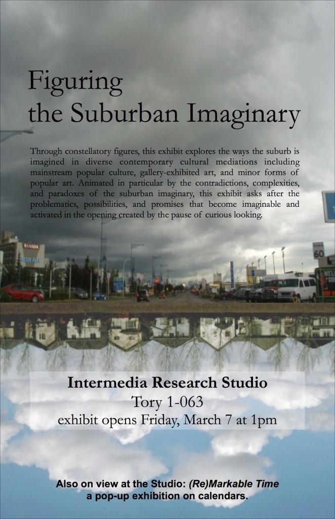 Suburb Exhibit Poster 2