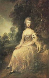 Mary Robinson by Gainsborough