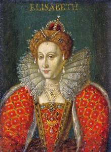 Late 1500's Queen Elizabeth I (1533-1603) Miniature Elisabeth