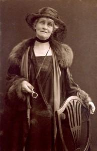 Emmeline Pankhurst by (Mary) Olive Edis (Mrs Galsworthy)
