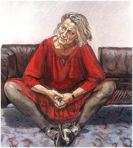 Germain Greer by Paula Rego