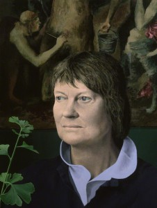 Iris Murdoch by Tom Phillips