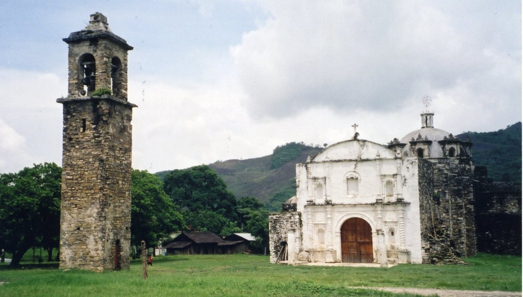 Church at San Pedro Tlaloantongo.