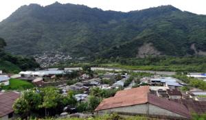 La comunidad de Patla, vista desde el sur
