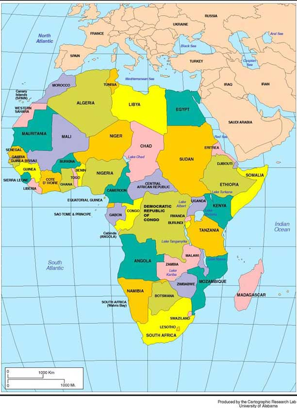 contemporary map of africa Hist247template contemporary map of africa